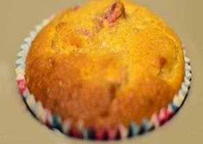 alacson szénhidráttartalmú rebarbarás muffin