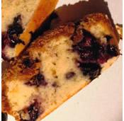 Cukormentes áfonyás süti