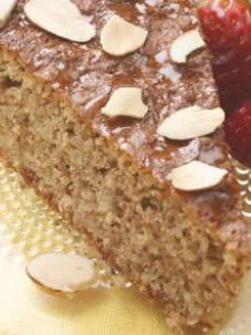 Lisztmentes mézes mandulás torta