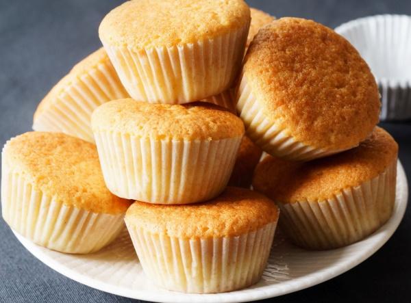 Cukormentes vaníliás muffin