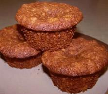 Zabpelyhes juharszirupos muffin